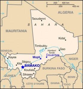 Malian SL kaart
